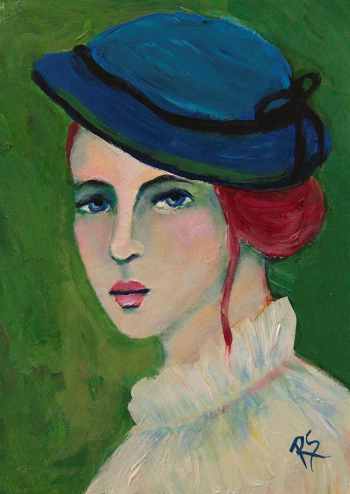 """""""Ingrid"""" original fine art by Roberta Schmidt"""