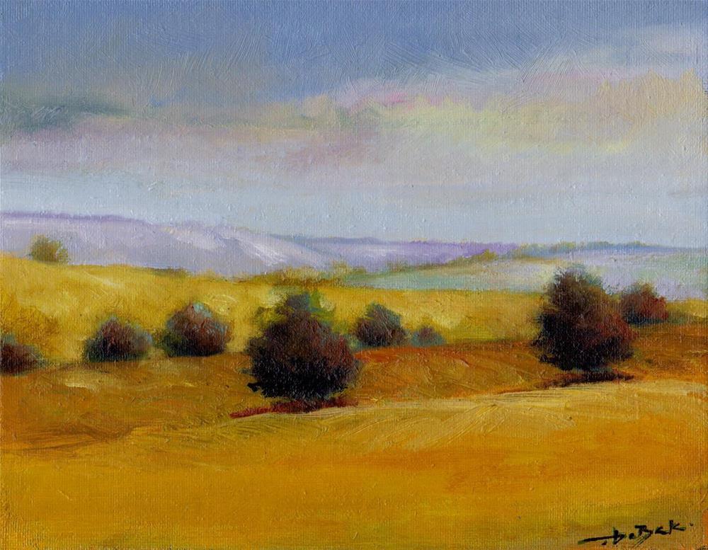 """afternoon"" original fine art by V. DeBak"