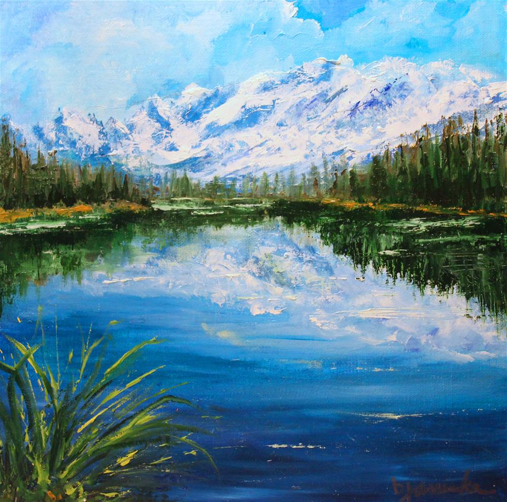 """Reflections"" original fine art by Barbara Janecka"