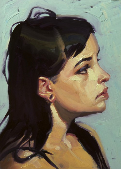 """Loops"" original fine art by John Larriva"