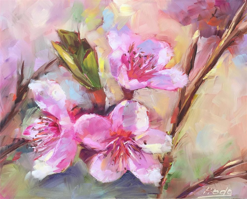 """Dreaming of Spring"" original fine art by Hoda Nicholas"