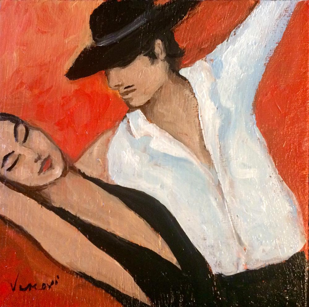 """Tango Roho"" original fine art by Valerie Vescovi"