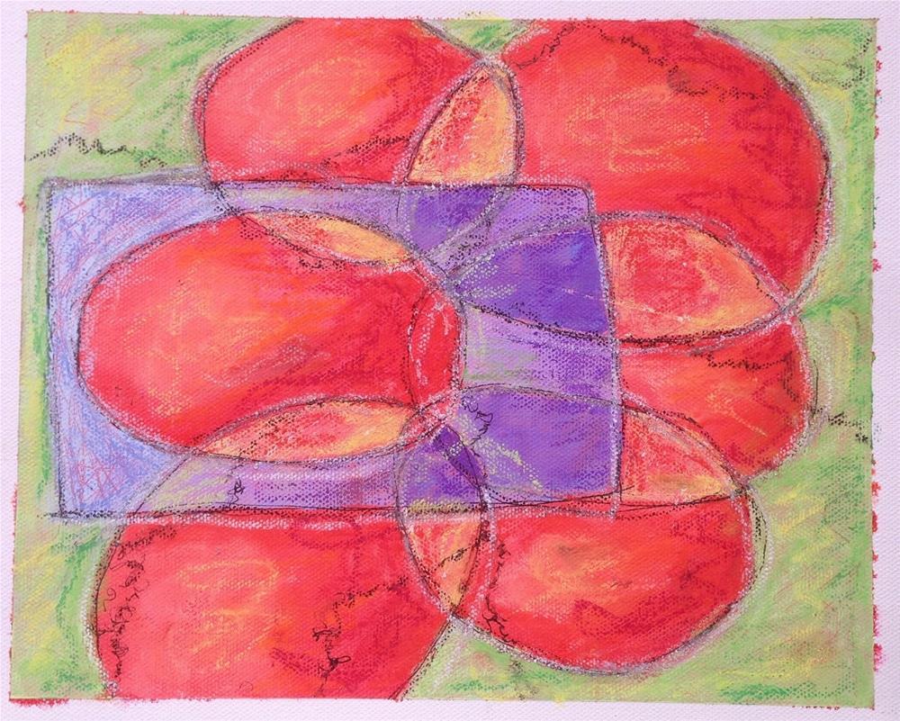 """""""Vigil in Room 2"""" original fine art by Dotty  Seiter"""