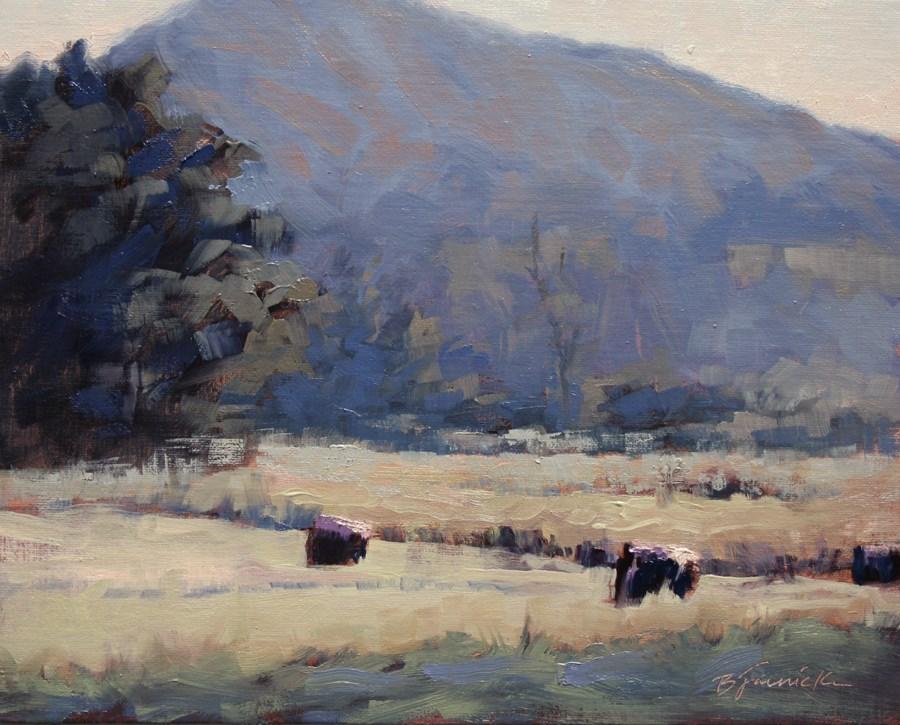 """Kimmons Mountain"" original fine art by Barbara Jaenicke"