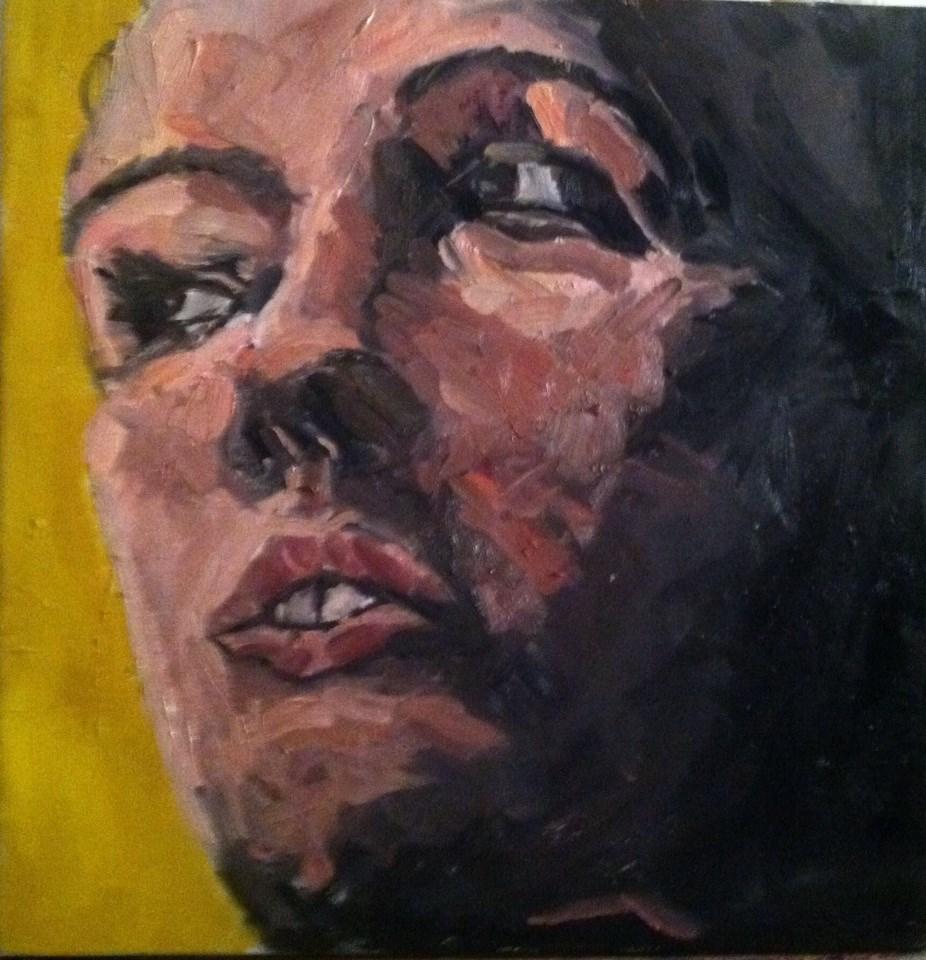 """yellow"" original fine art by paul smith"