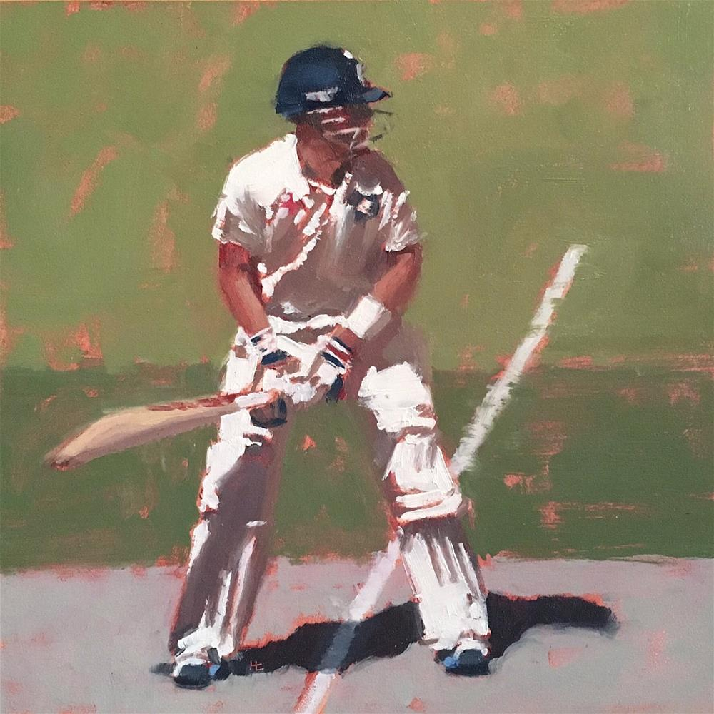 """BATSMAN SERIES #1"" original fine art by Helen Cooper"