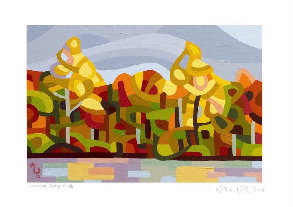 """Landscape Study #28"" original fine art by Mandy Budan"