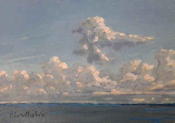 """""""Clouds 1"""" original fine art by Linda Blondheim"""