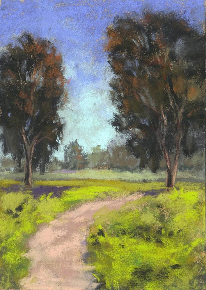"""Path to Somewhere"" original fine art by Sherri Cassell"