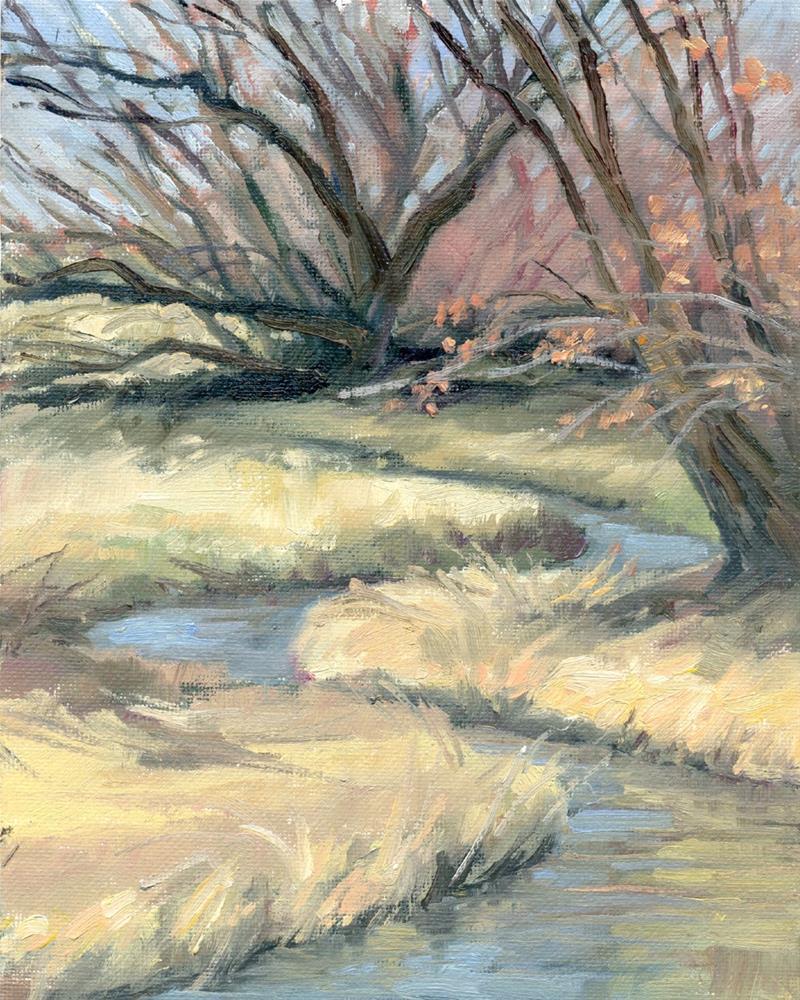 """Willows"" original fine art by Kath Reilly"