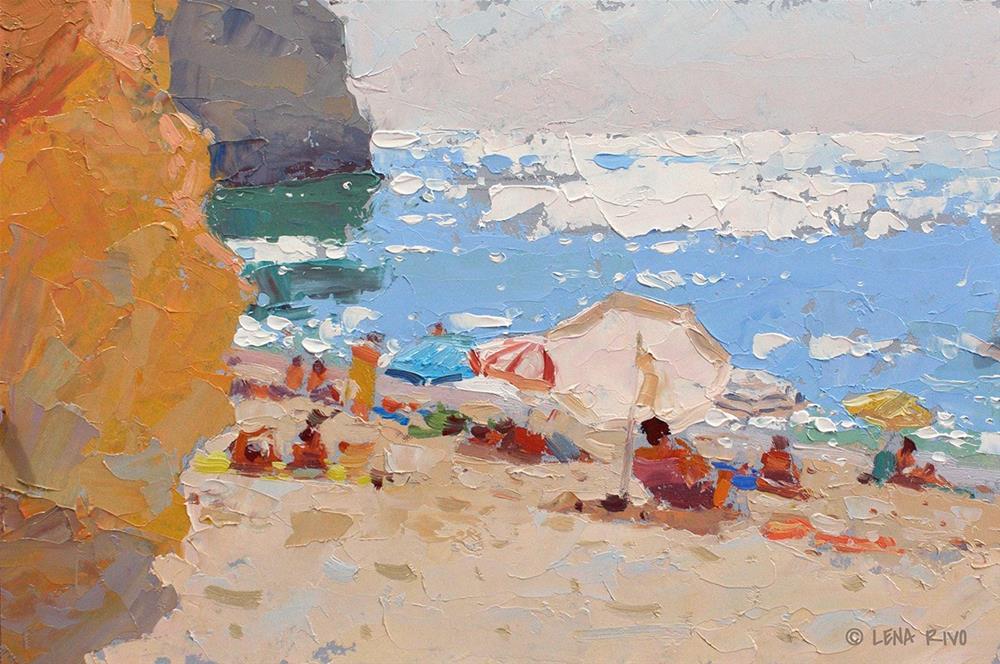 """""""Perfect Day. Algarve."""" original fine art by Lena  Rivo"""