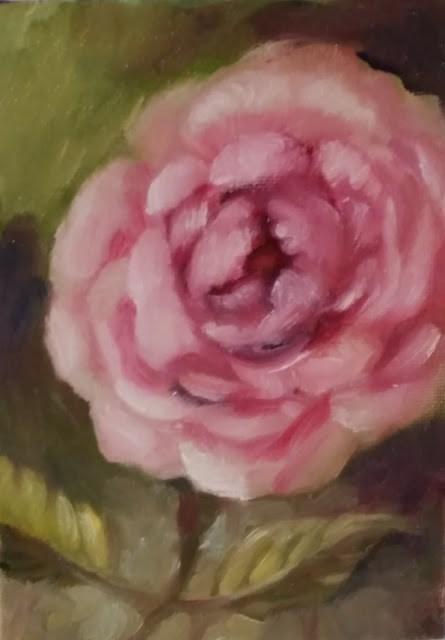 """""""A Rose Is A Rose"""" original fine art by Wendy Starita"""