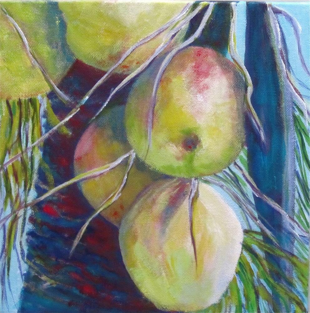 """Florida Nuts II"" original fine art by Patricia MacDonald"