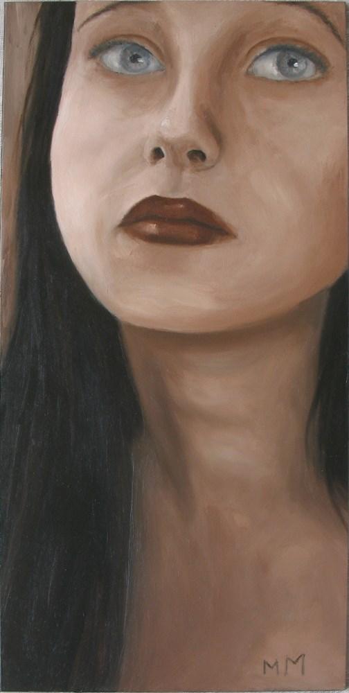 """Longing"" original fine art by Melisa McCurley"