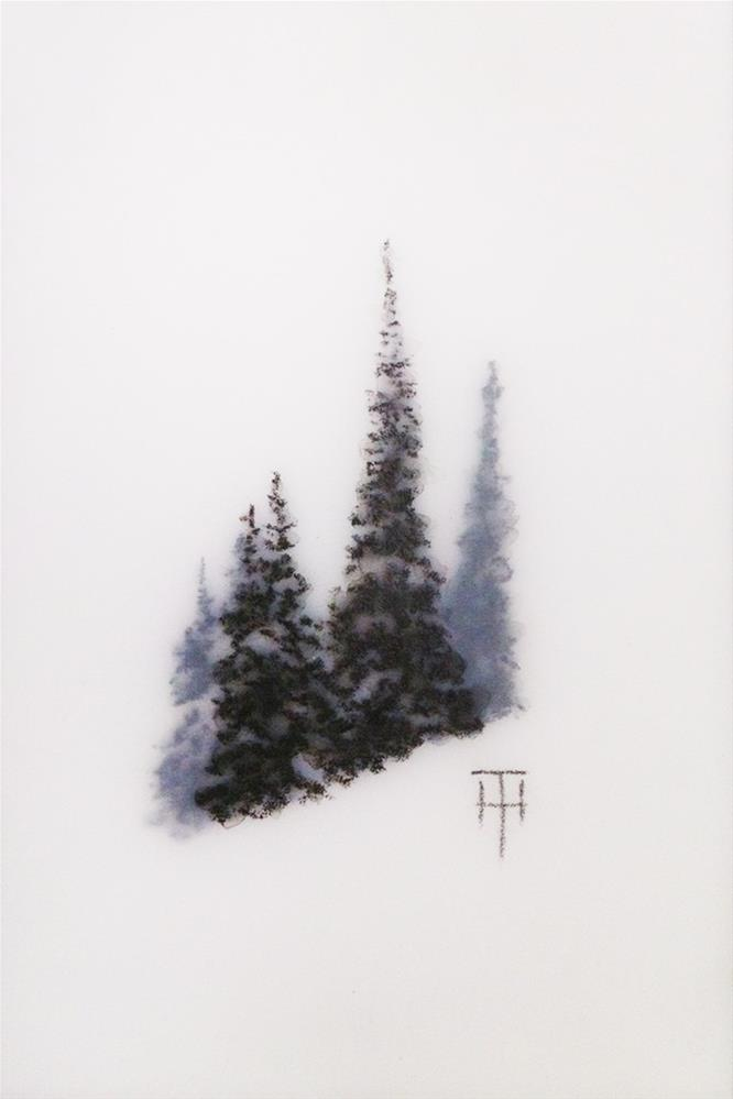 """Mountain Gems III"" original fine art by Terri Heinrichs"