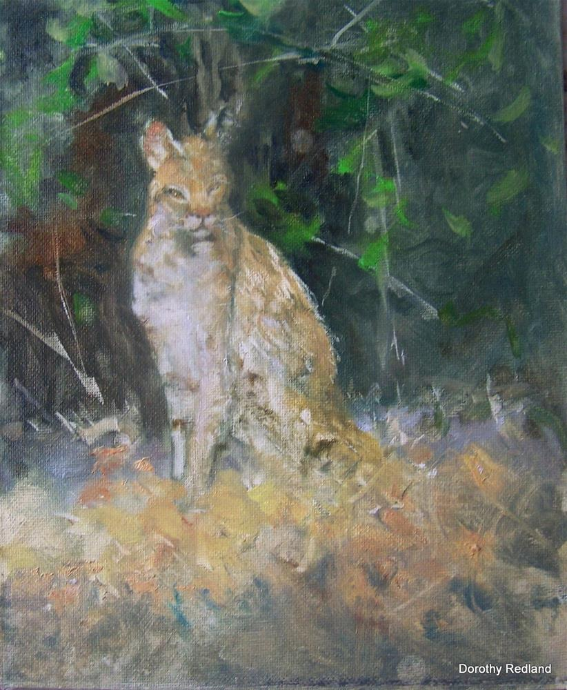 """Soaking up the sun"" original fine art by Dorothy Redland"