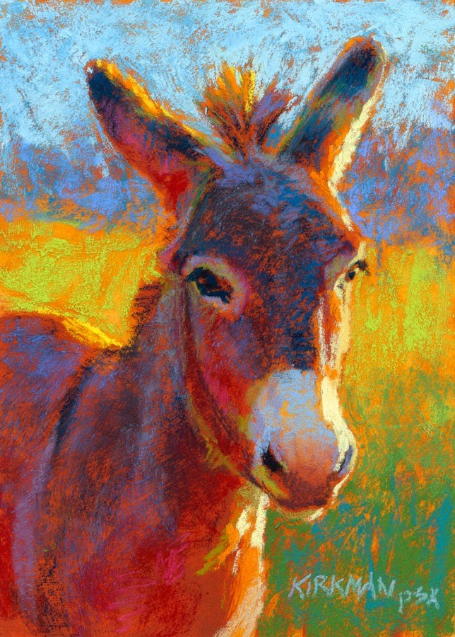 """Serrano - day 9"" original fine art by Rita Kirkman"