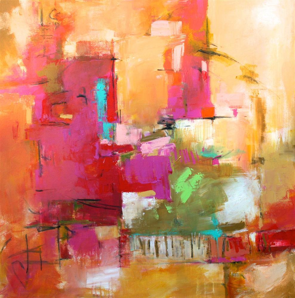 """Juncture"" original fine art by Elizabeth Chapman"