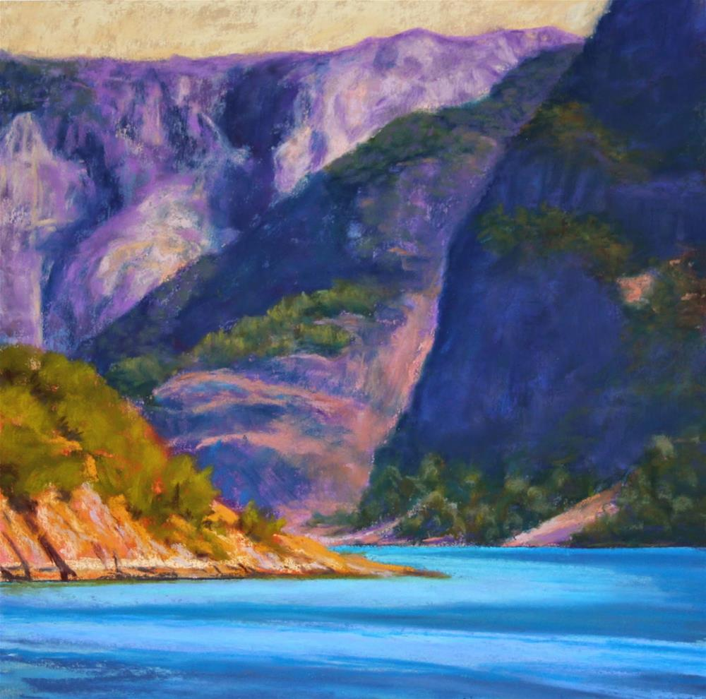 """Glacial Gifts"" original fine art by Sharon Lewis"