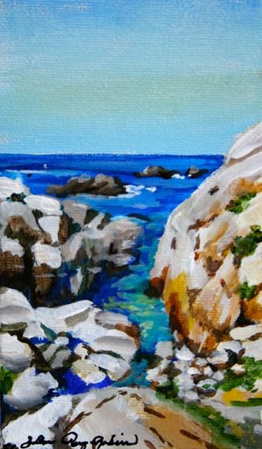 """Ocean Gates"" original fine art by JoAnne Perez Robinson"