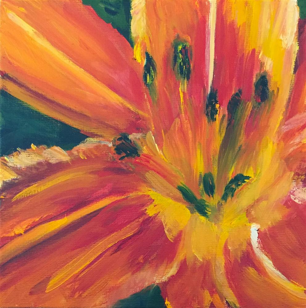 """Burst of Bright"" original fine art by Renee Robison"