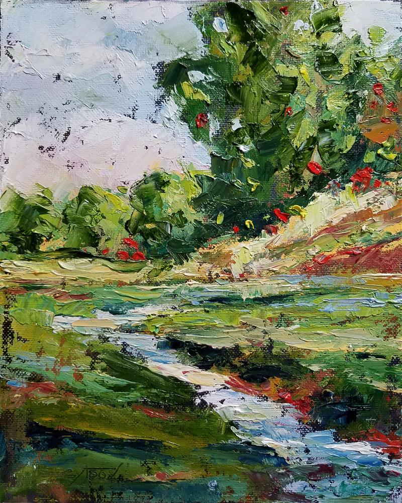 """Landscape 2"" original fine art by Gabriella DeLamater"