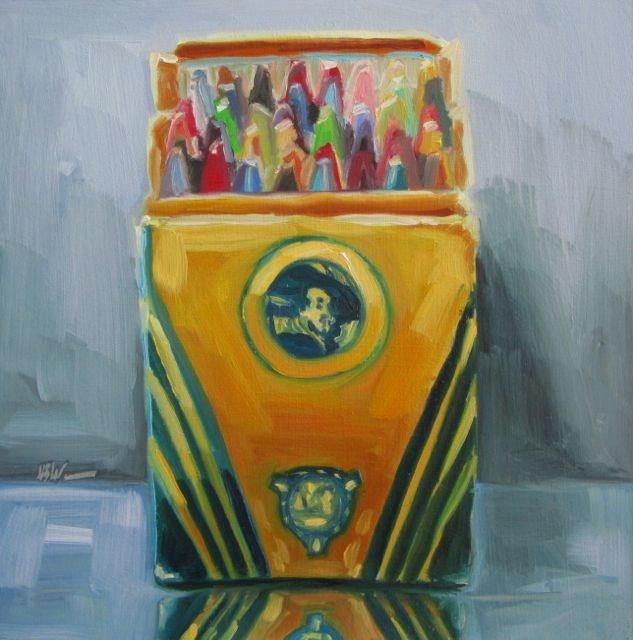 """""""REMBRANDT"""" original fine art by Mb Warner"""