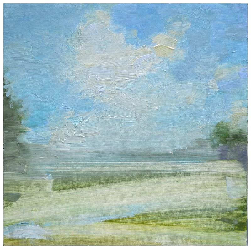 """""""Summer cloud study"""" original fine art by Steven Goodman"""