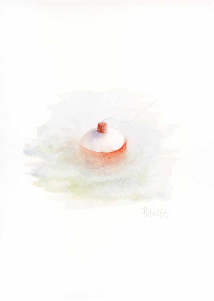 """Bobber Study V"" original fine art by Susanne Billings"