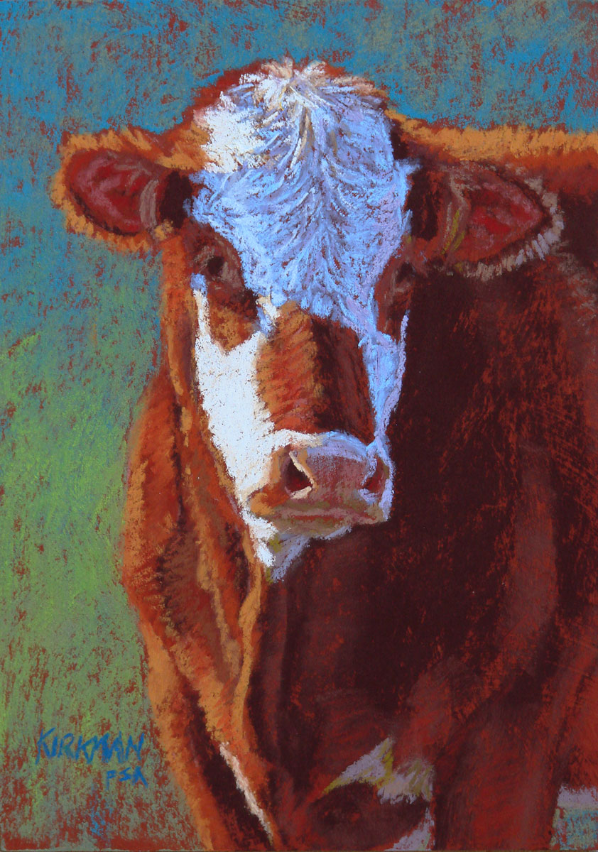 """Ginger"" original fine art by Rita Kirkman"