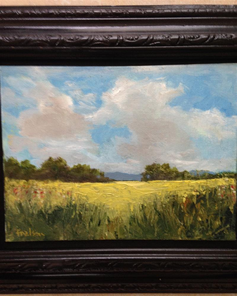 """""""Sky view"""" original fine art by Frank and Liangni Nelson"""