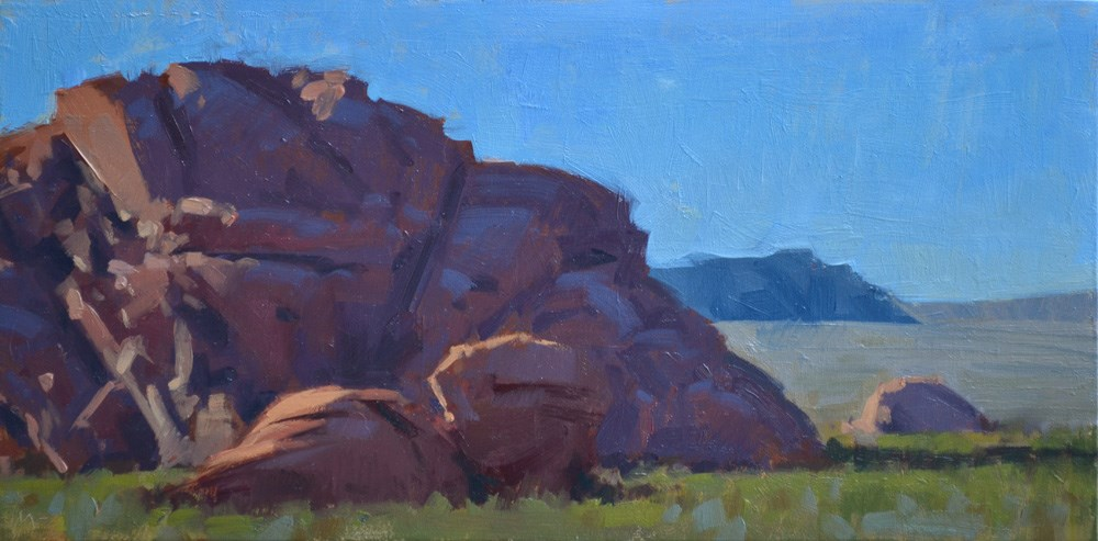"""A Rock Journey"" original fine art by Carol Marine"