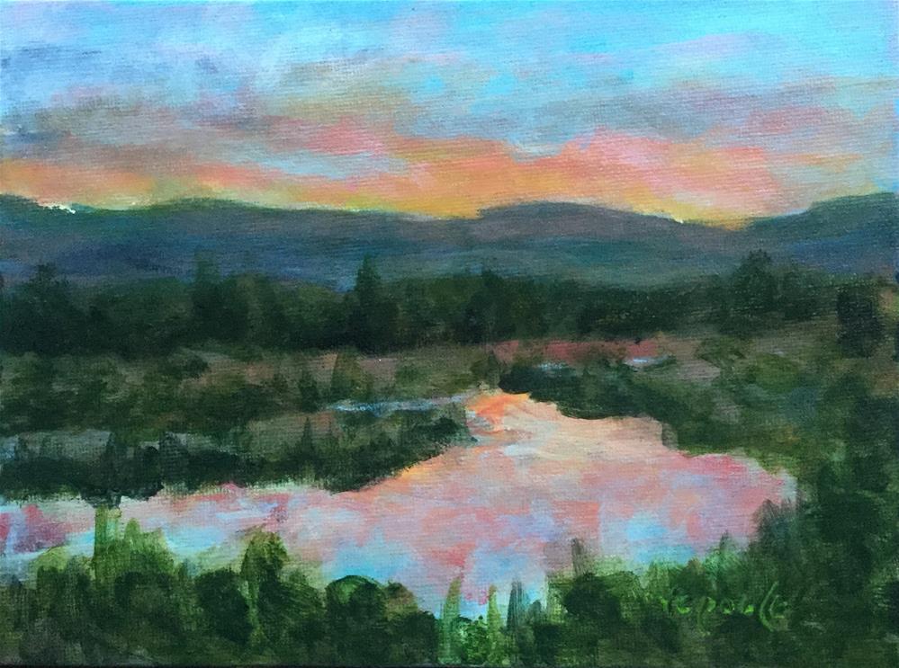 """""""Pretty in Pink"""" original fine art by T.C. Poole"""