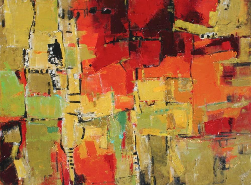 """Praxis"" original fine art by Elizabeth Chapman"