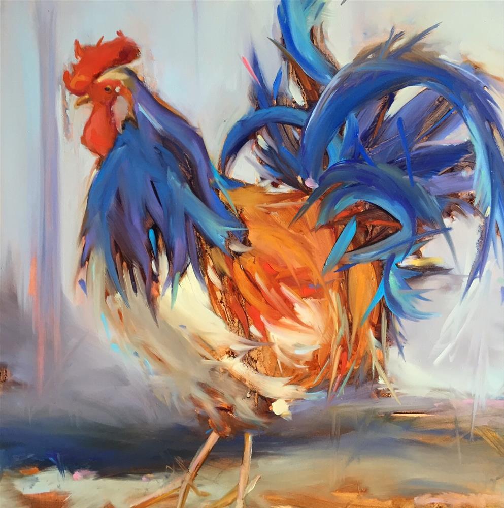 """Rudy Ramon"" original fine art by Kathleen Broaderick"