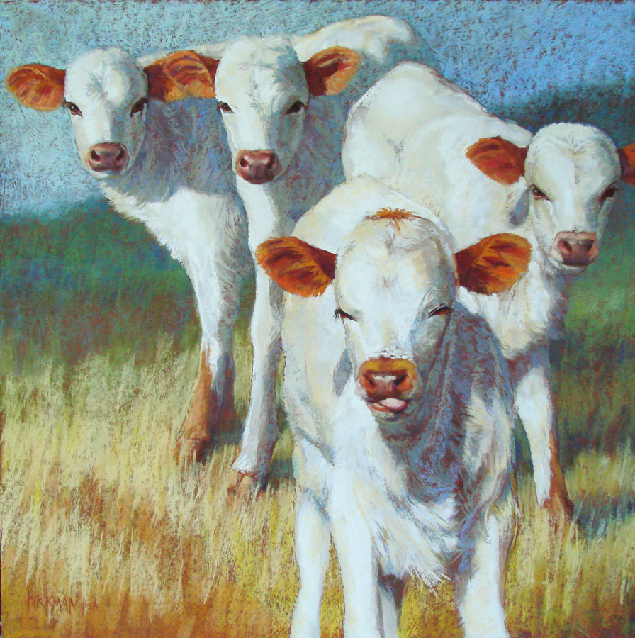 """Leader of the Pack"" original fine art by Rita Kirkman"