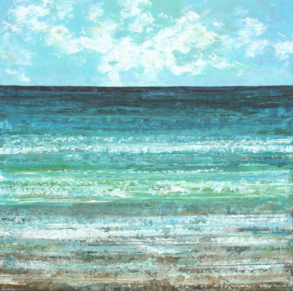 """The Graceful Sea"" original fine art by Sage Mountain"