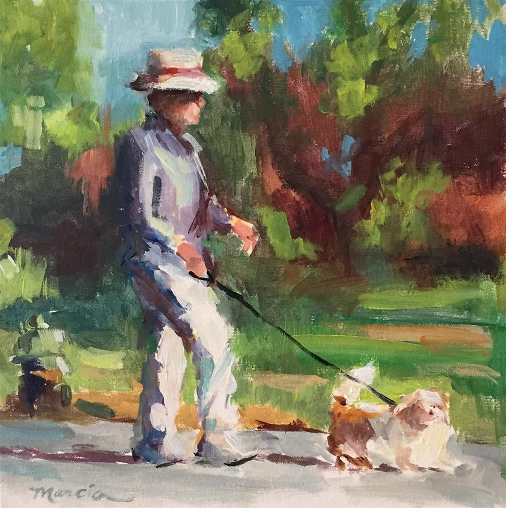 """Do Dah Days"" original fine art by Marcia Hodges"