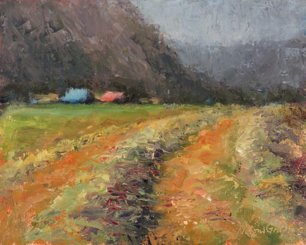 """Windrows No. 3"" original fine art by Naomi Gray"