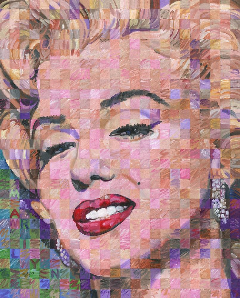"""Marilyn Monroe #7"" original fine art by Randal Huiskens"