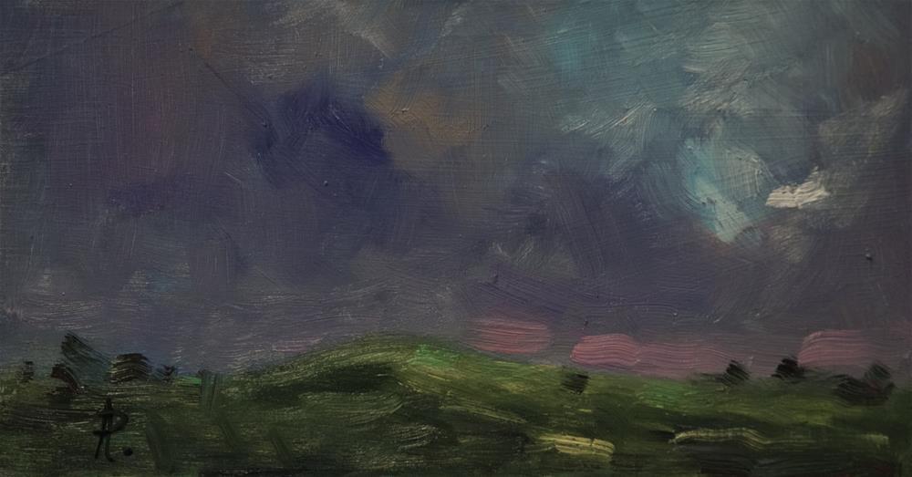 """Highdown"" original fine art by Andre Pallat"