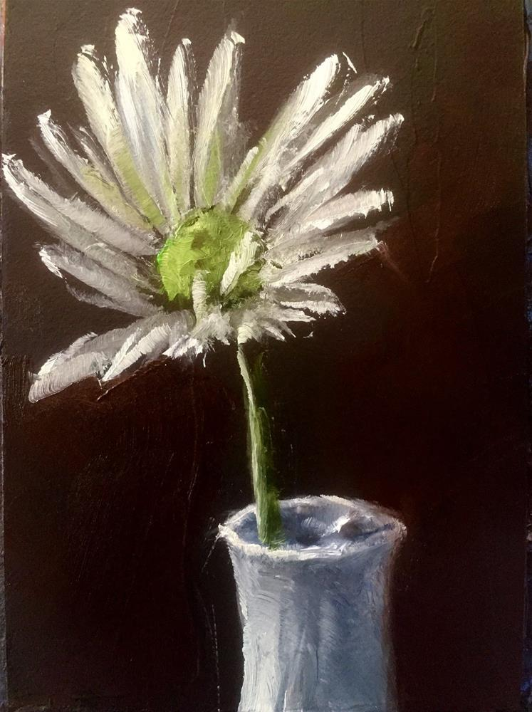 """Single Daisy"" original fine art by Gary Bruton"