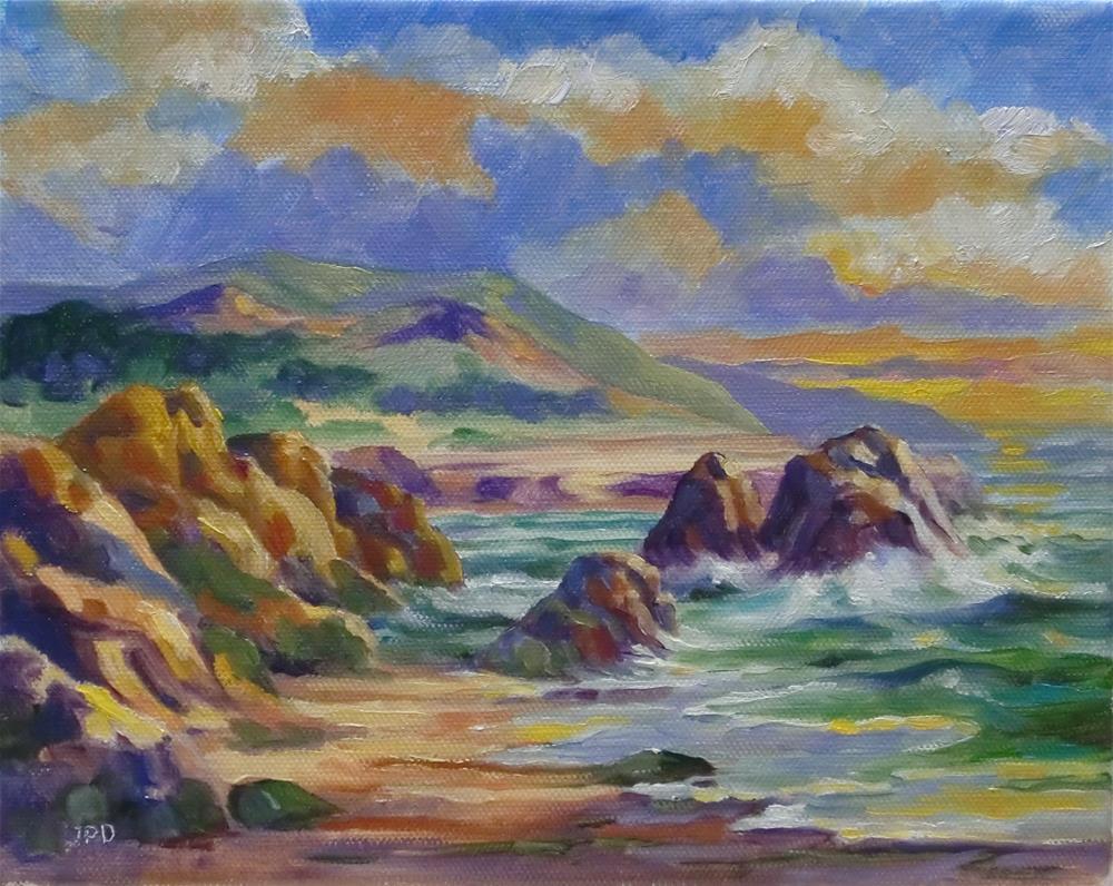 """Washington Coast"" original fine art by Jean Pierre DeBernay"