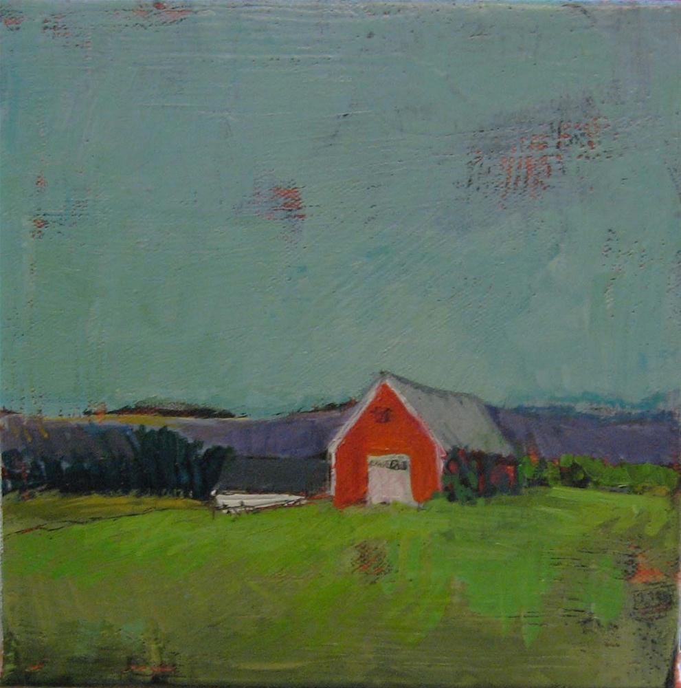 """Spring Early Morning"" original fine art by Kristina Davidson"