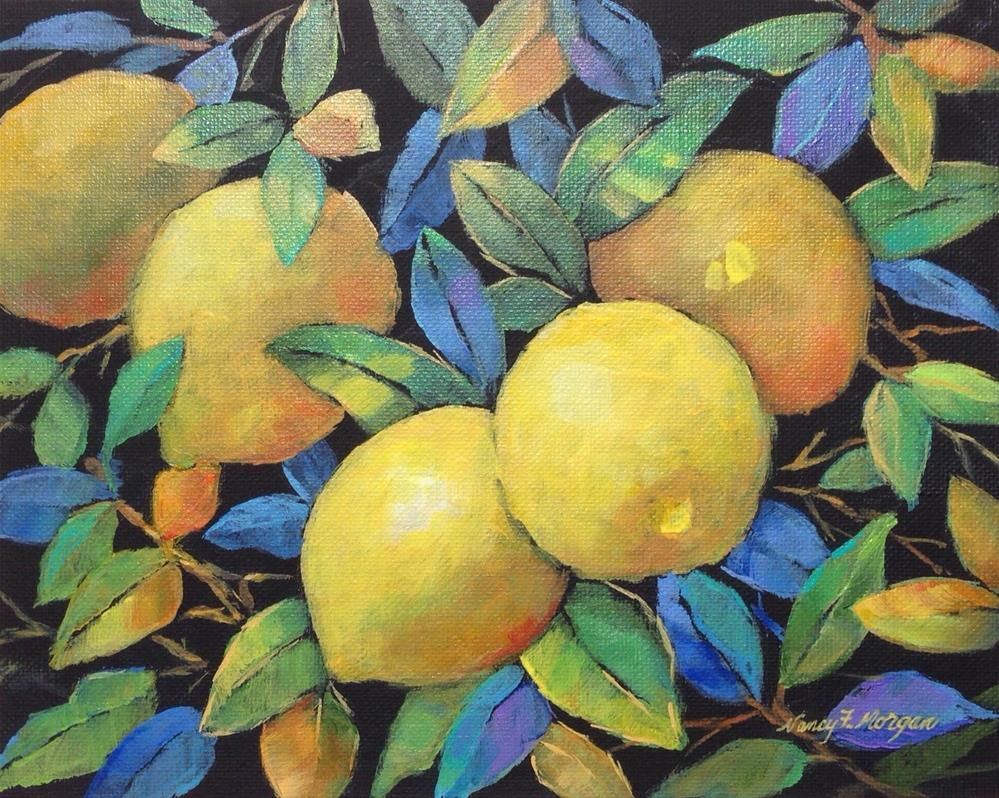 """Ripe and Ready"" original fine art by Nancy F. Morgan"