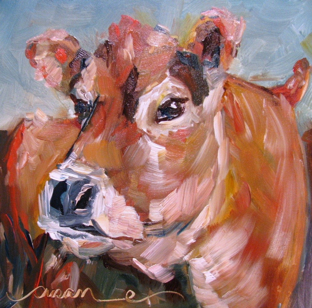 """Henrietta"" original fine art by Susan Elizabeth Jones"