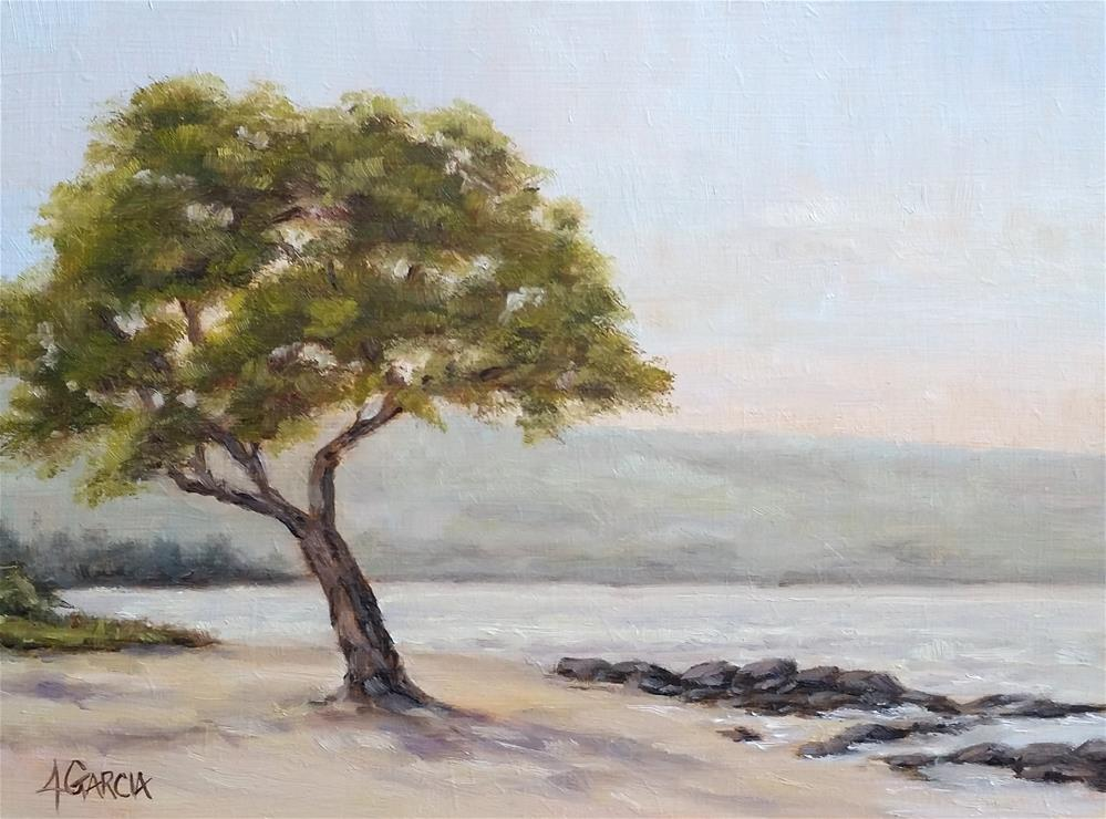 """Peaceful Morning"" original fine art by Jeannie Garcia"