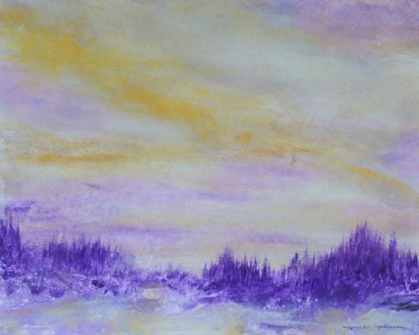"""Tranquil Sky"" original fine art by Jana Johnson"