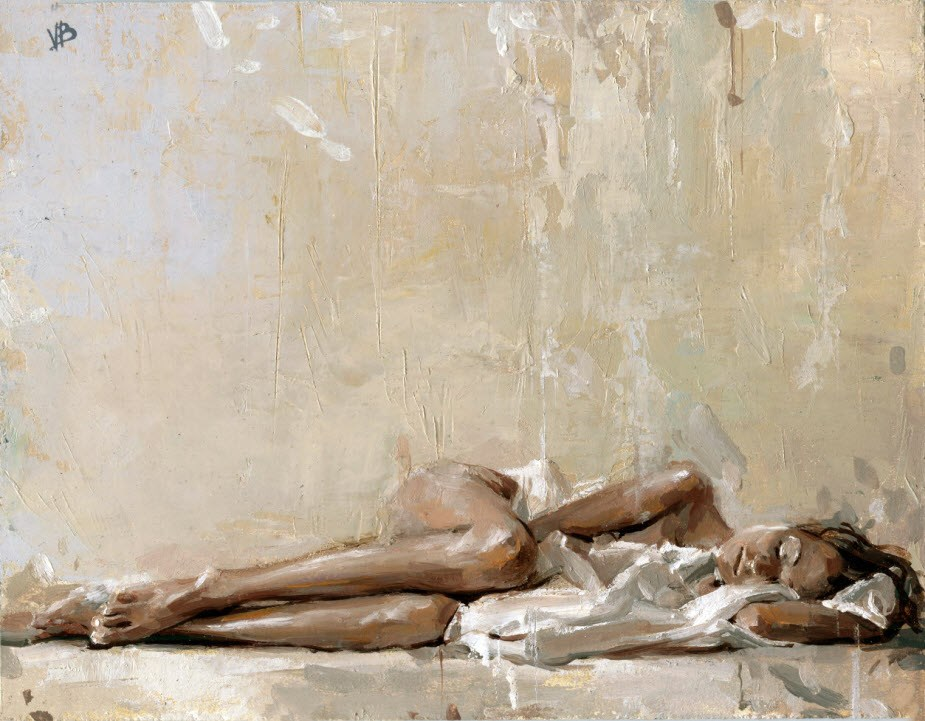 """Morning Light"" original fine art by Victor Bauer"