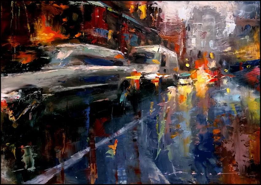 """Untitled"" original fine art by Angel Angelov"